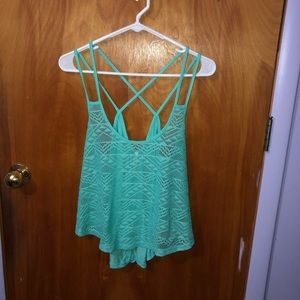 Cute Strappy Tank Size Large